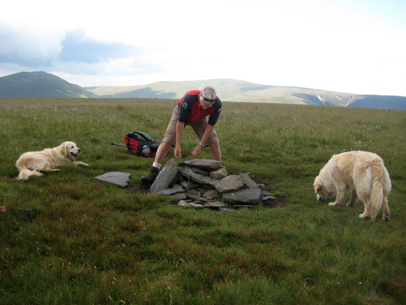 Help rebuild the cairn ... repeat as required.